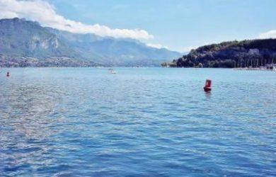 Activités au bord du Lac d'Annecy
