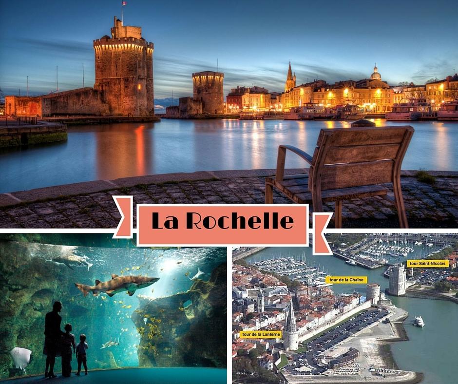 Un weekend dans la ville de la Rochelle et ses îles voisines