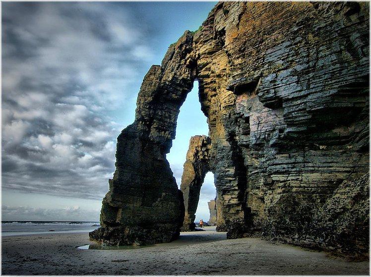 As Catedrais-plages-falaises