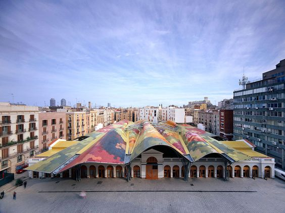 Mercat-de-Santa-Caterina-weekend-barcelone