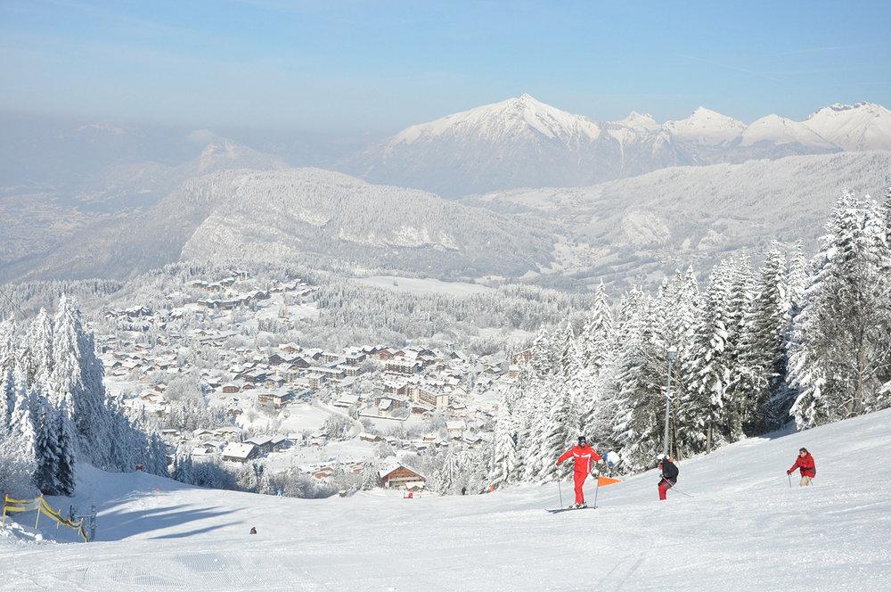 Les Carroz ski