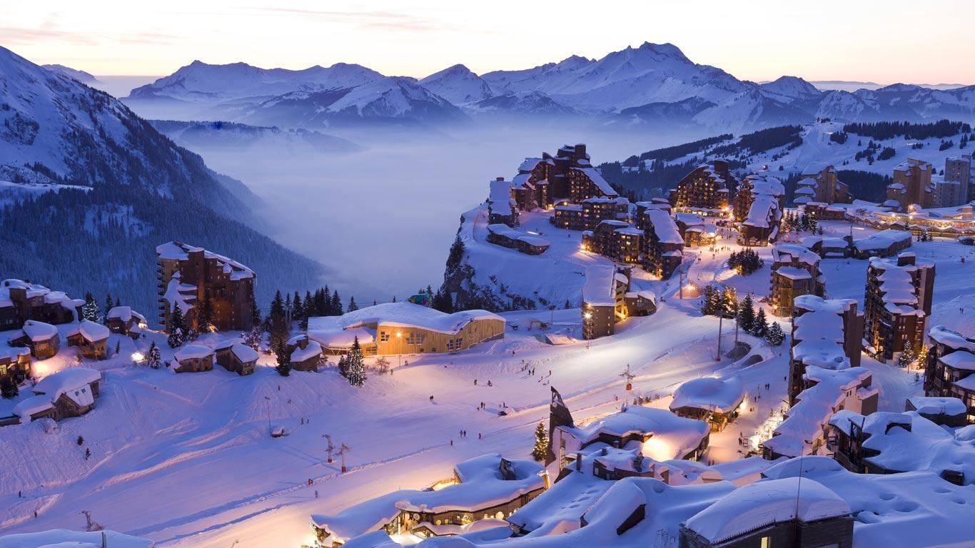 Proches des pistes ski