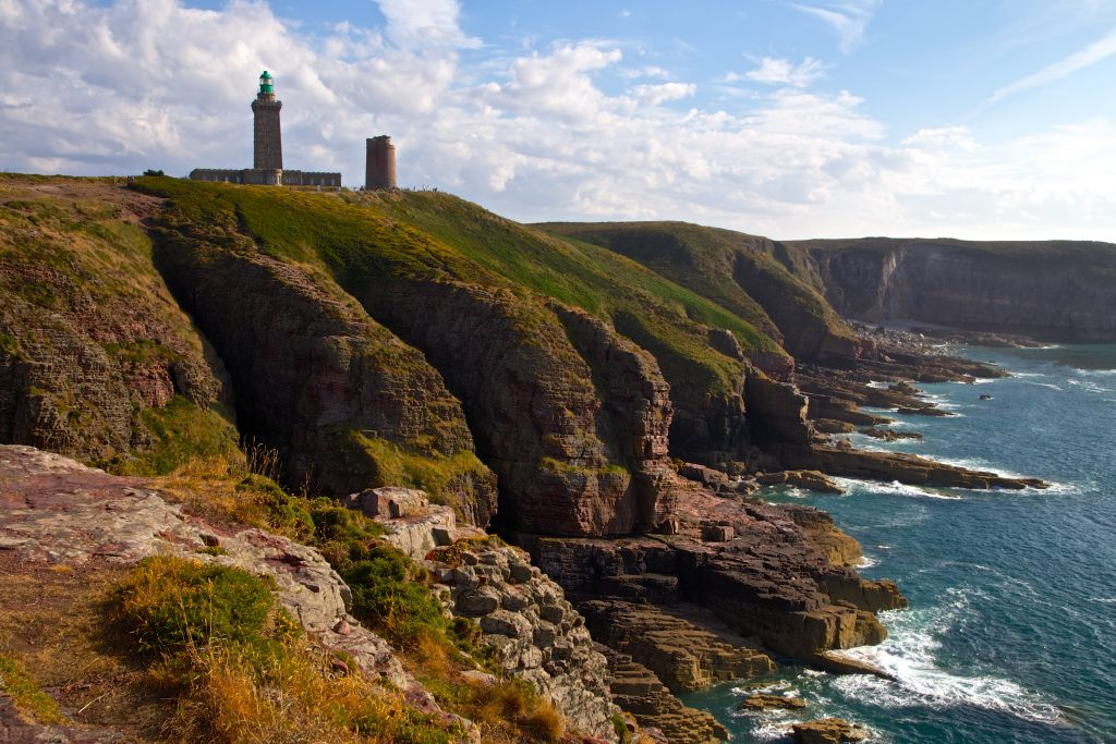 Cap Fréhel Lighthouse and Cliffs, Côtes d'Armor, Brittany