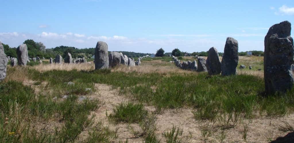 Carnac menhirs