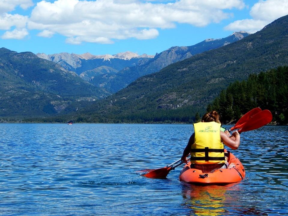 kayak en montagne