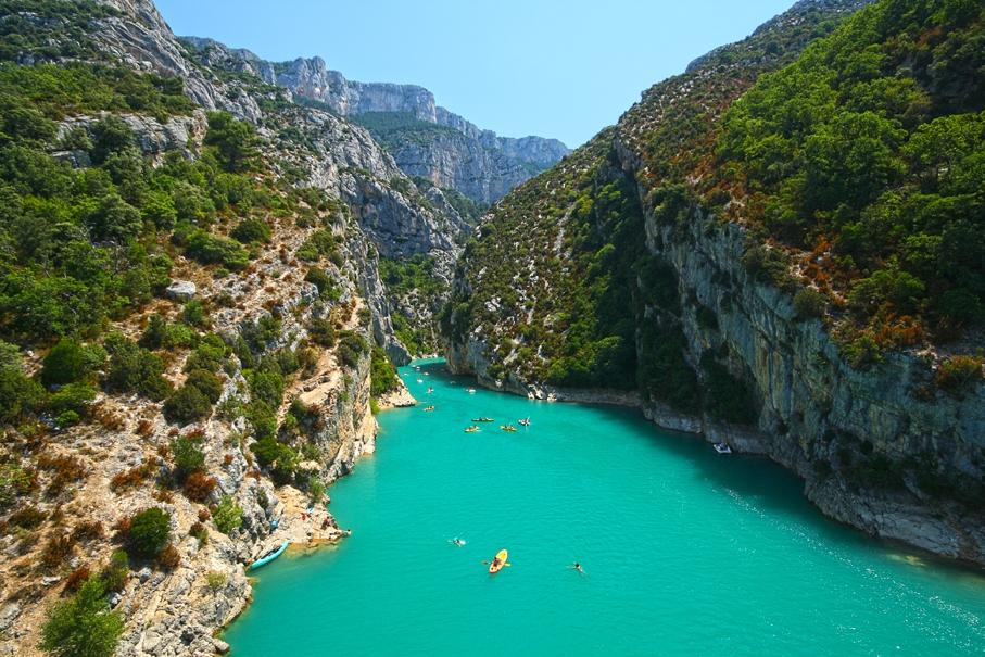 Alpes-de-Haute-Provence Gorges du Verdon Var