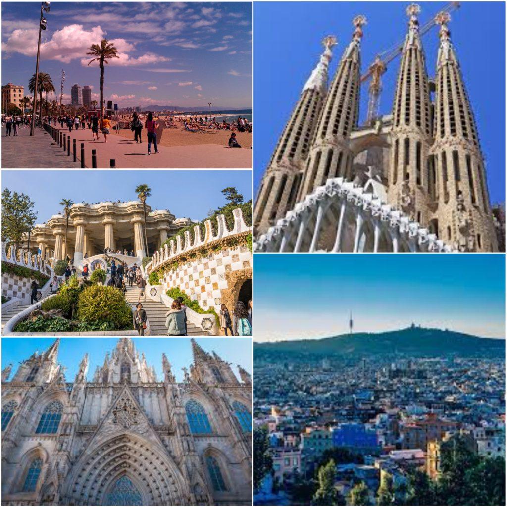 les différentes facettes de vos vacances à Barcelone