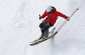 christmas skier