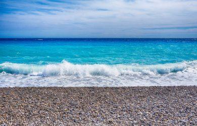France sud bord de mer