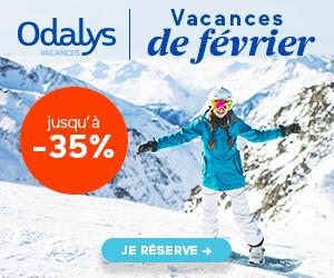 SPÉCIAL FÉVRIER  Odalys Vacances ski